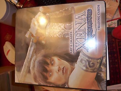 Xena Trading Card Album With 390 Cards