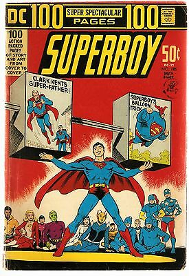 Superboy No.185 100 Page Spectacular Legion of Superheroes/Teen Titans 1972