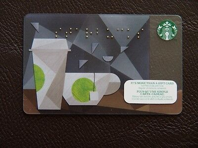 starbucks canada mint gift card-braille