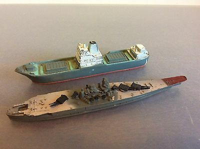 Ship Hornby Minic Ships No. 781 & Unknown
