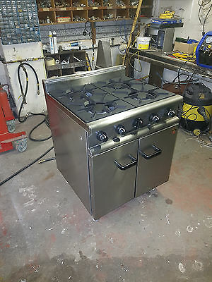 Falcon 4 Burner Cooker and Oven Natural Gas (REF-1617/401)