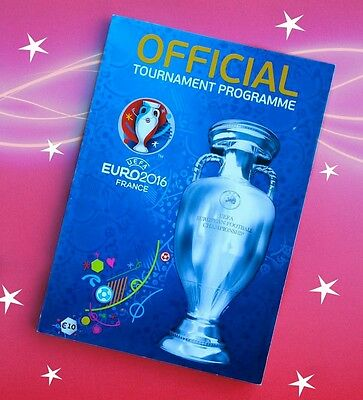 OFFICIAL Tournament Programme UEFA Euro 2016 France (ENGLISH)