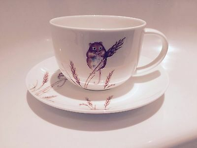 Roy Kirkham Country Field Mouse Bone China Large Breakfast Cup & Saucer Gift Box