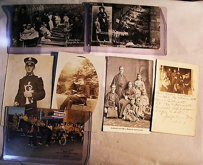 Salvation Army - - LIQUIDATING LEFT OVER  VINTAGE PHOTOS - VARIETY OF 7 OFFERED