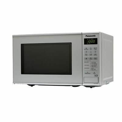 Panasonic NNK181MMBPQ Compact 800W 20L Microwave Oven with Grill in Silver