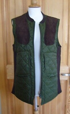 BARBOUR small traditional quilted countrywear equestrian gillet bodywarmer
