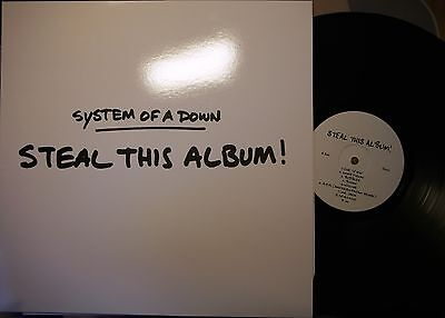 SYSTEM OF A DOWN Steal This Album! VINYL LP Not On Label/Unofficial NU-METAL New