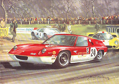 LOTUS 47 card print of Michael Turner painting - 1967