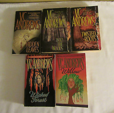 V.C. Andrews The Wildflowers Series Lot of 5 Paperback Books