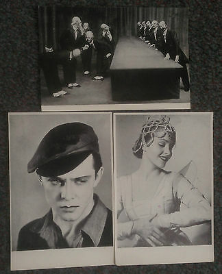Lot Of 3 Vintage Photos From Ballets Jooss