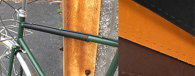 Velo Orange Leather Top Tube Protector for 25.4mm tube Made in USA