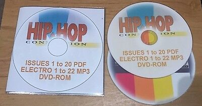 HHC Hip Hop Connection issues 1 to 20 in PDF format complete issues rap magazine
