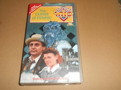 Dr Doctor Who The Curse of Fenric - VHS/PAL Video + Extra Footage