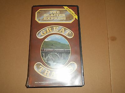 Great Trains - The Glacier Express - Steam Railways VHS/PAL Video