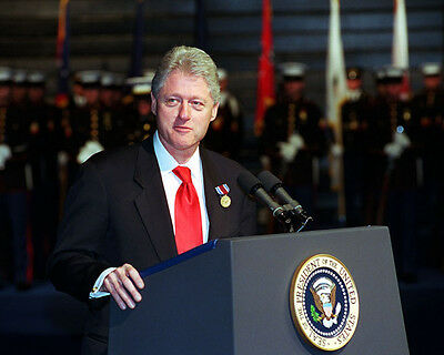 EP-287 8X10 PHOTO BILL CLINTON 42ND PRESIDENT OF THE UNITED STATES