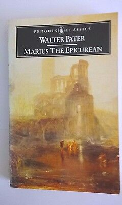 Marius the Epicurean by Walter Pater (Paperback, 1985)