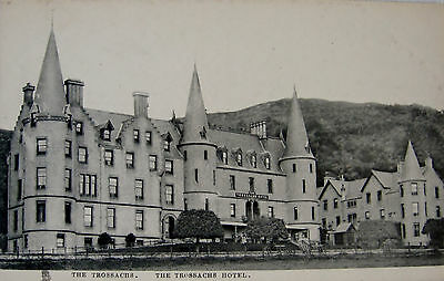 Two Early Printed Tucks Postcards. The Trossachs Hotel.