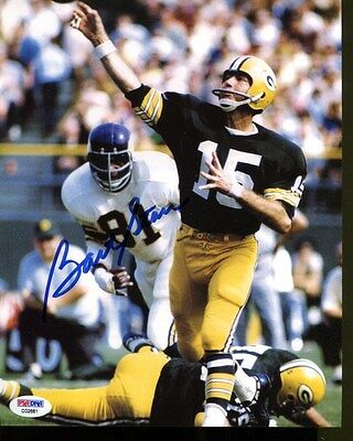 Bart Starr Signed Autographed 8 X 10 Photo Packers PSA/DNA C02681