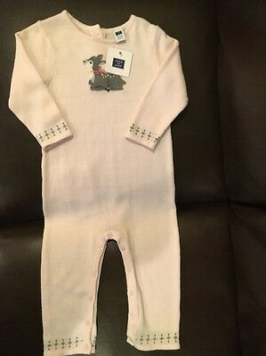 NWT Janie And Jack Girls One Piece Outfit, Size 12-18 Months