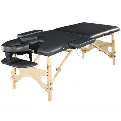 "28"" Wide Portable Folding Massage Table - Deluxe Salon Spa Bed - Tranquility"