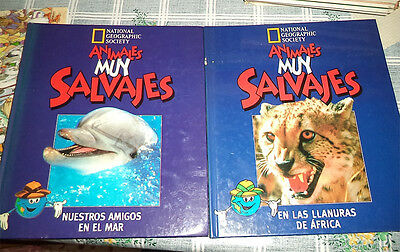 Tg = Animales Muy Salvajes Tm. 1 + 2 National Geographic Society 1996