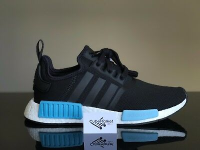 Adidas NMD R1 Runner Core Black Mint Women's BY9951 Size 5 - 8.5 100% Authentic