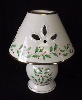 Lenox Holly Candle Lamp CHL1