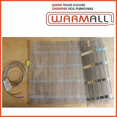 "Warm All Electric Floor Heating Mat 60"" Wide - 120 Volts"