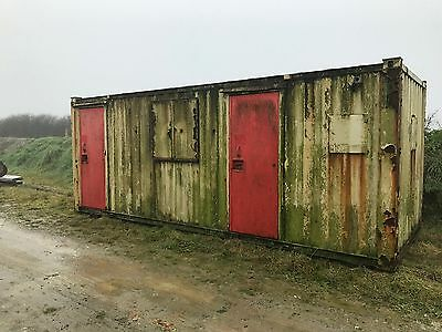 21 X 8 portable site office Cabin Shipping Container type