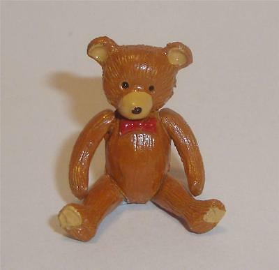 Hantel Warwick Pewter Miniature Teddy Bear Jointed Articulated    10