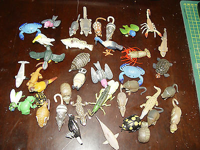 Yowies. Lot of 41 Yowie plastic toys.