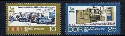 East Germany Ddr Sg E 1566/7 Mint Never Hinged