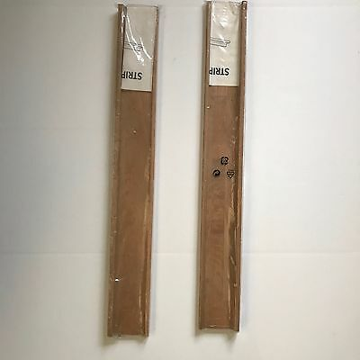 [IKEA] STRIPA Natural Wood Floating Wall Picture Ledge Set of Two (2) in package