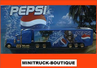 Pepsi Cola - On the beach (N° 1)  / truck US Freightliner, Scale HO/1:87