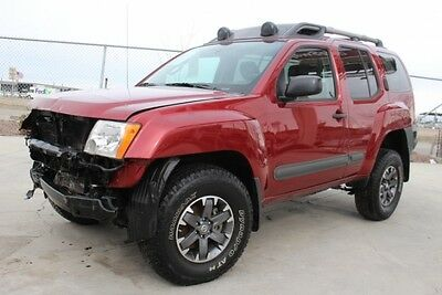 2015 Nissan Xterra Pro-4X 2015 Nissan Xterra Pro-4X 4WD Damaged Salvage Only 21K Miles Perfect Project!!
