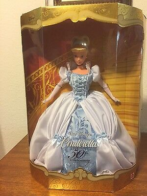 Walt Disney 50th Anniversary Cinderella Collector Doll NIB