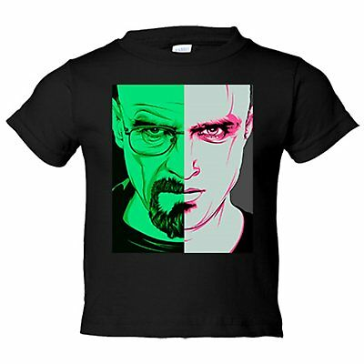 Camiseta niño Breaking Bad Walt y Jesse