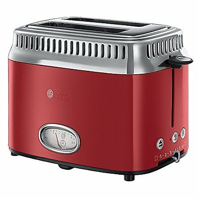 Russell Hobbs 21680-56 Grille-pains 2 fentes Rouge  1300 W