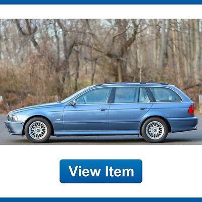 2002 BMW 5-Series Base Wagon 4-Door 2002 BMW 525i Wagon Super Low 72K Miles Serviced Cold Weather Package CARFAX!