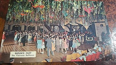 1968 Postcard Viennese Ballroom Butlin's Holiday Camp Filey - Used