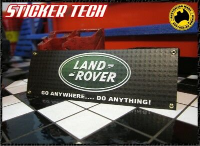 1/10 Scale Land Rover Garage Work Shop Banner Suit Rc4Wd Defender D90 Gelande