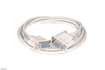 RS232 Serial Null Modem Cable