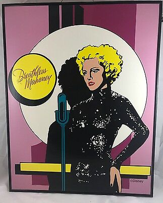 Madonna Disney Breathless Mahoney picture poster 16x20 Dick Tracy Movie 1990