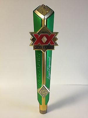 """Dos Equis Lager Especial Beer Tap Handle Limited Edition ~ NEW & F/S ~12.5"""" Rare"""