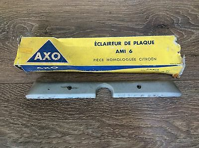 Citroen Ami 6 REAR NUMBER PLATE light Cover 1961-67