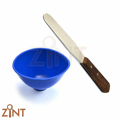 Dental Mixing Bowl Plaster Spatula Wax Technician Lab Instruments Alginate Tools