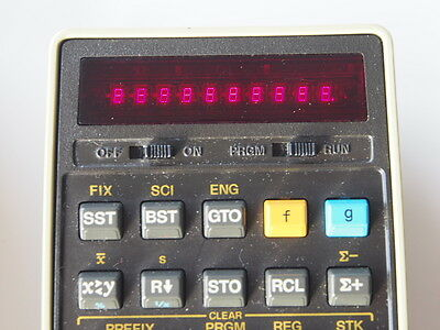 Calculator HP 25, with case, manual