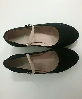 Bloch character shoes size 6 black
