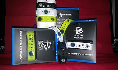 POWER BALANCE Wristband. 3 colours. New in box.Medium.