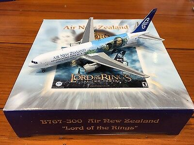 Air New Zealand Lord of the Rings Boeing 767-300 ZK-NCG Model 1:400 Gemini Jets